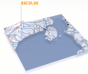 3d view of Bacolod