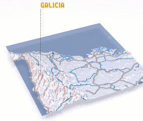 3d view of Galicia