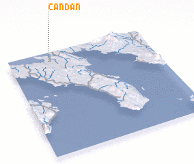 3d view of Candan