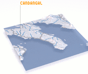 3d view of Candañgal