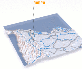 3d view of Bonza
