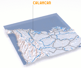 3d view of Calamcan