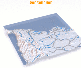 3d view of Pagsanghan