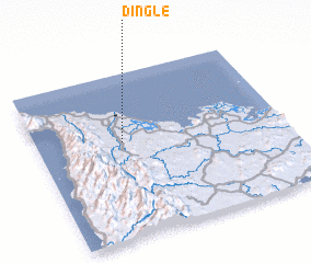 3d view of Dingle