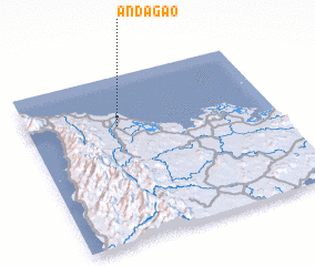 3d view of Andagao