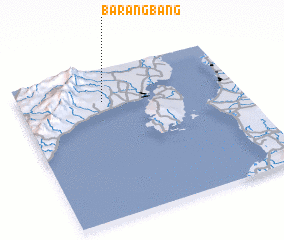 3d view of Barangbang