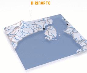 3d view of Biri Norte