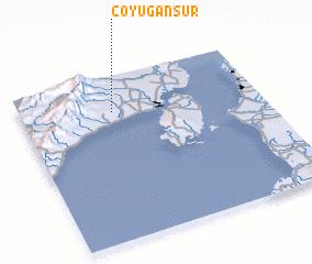 3d view of Coyugan Sur