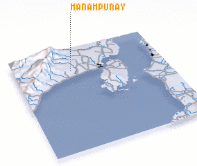 3d view of Manampunay