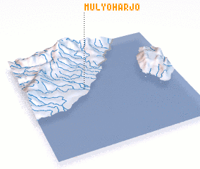 3d view of Mulyoharjo