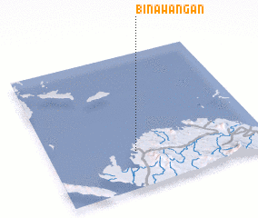 3d view of Binawañgan