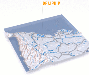 3d view of Dalipdip