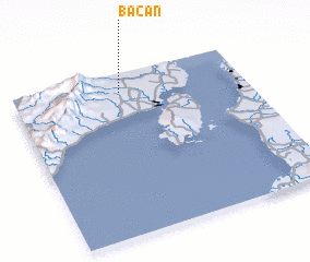 3d view of Bacan