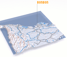 3d view of Bonbon
