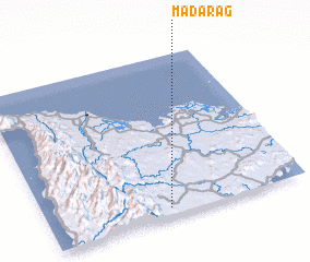 3d view of Madarag