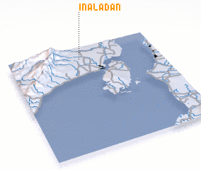 3d view of Inaladan