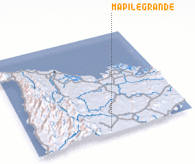 3d view of Mapile Grande