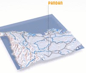 3d view of Pandan