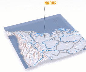 3d view of Man-up