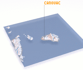 3d view of Canouac