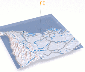 3d view of Fé