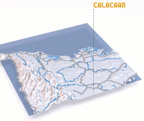 3d view of Calaca-an