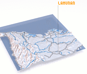 3d view of Lamunan