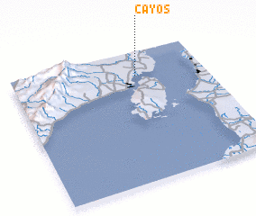 3d view of Cayos