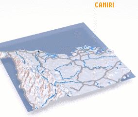 3d view of Camiri