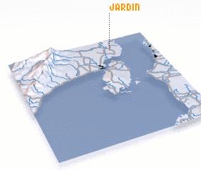 3d view of Jardin