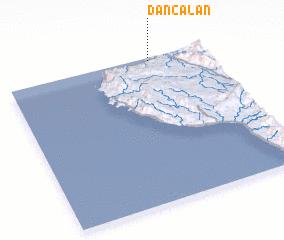 3d view of Dancalan