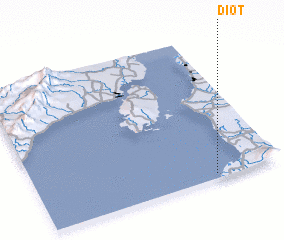 3d view of Diot