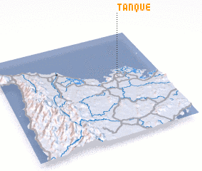 3d view of Tanque