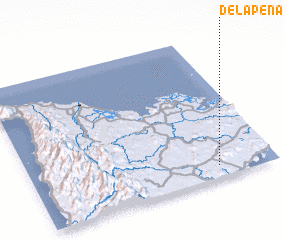 3d view of Delapeña
