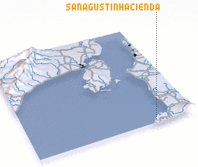 3d view of San Agustin Hacienda