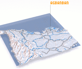 3d view of Agbanban
