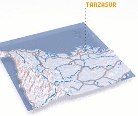 3d view of Tanza Sur