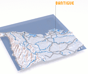 3d view of Bantigue