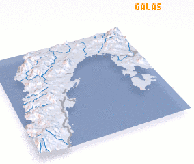 3d view of Galas