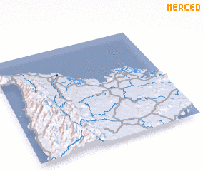 3d view of Merced