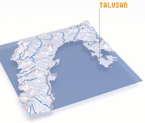 3d view of Talusan