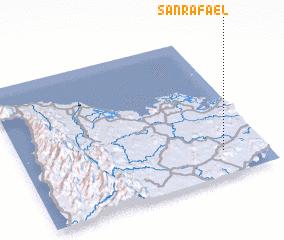 3d view of San Rafael