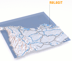 3d view of Malagit