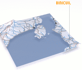 3d view of Binicuil