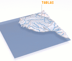 3d view of Tablas