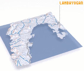 3d view of Lambayogan