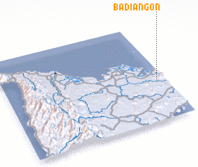 3d view of Badiangon