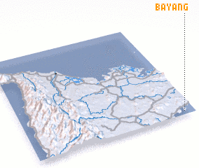 3d view of Bay-ang