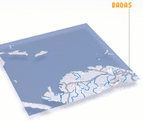 3d view of Badas