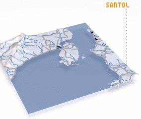 3d view of Santol